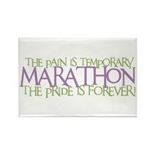 Marathon- The Pride is Forever Rectangle Magnet