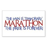 Marathon- The Pride is Forever Sticker (Rectangula