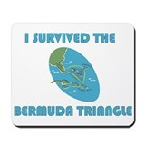 Cute Travel bermuda Mousepad