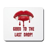 Blood-Dripping Vampire Fangs GOOD TO THE LAST DROP