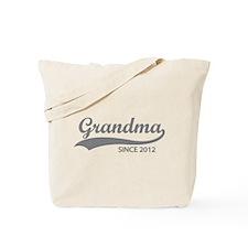 Grandma since 2012 Tote Bag