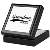 Grandma since 2013 Keepsake Box