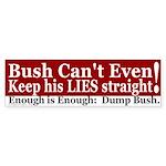 Enough is Enough Bumper Sticker