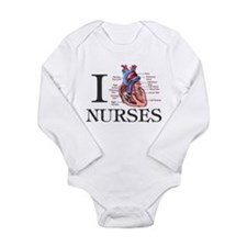 Cute Oncology research Long Sleeve Infant Bodysuit