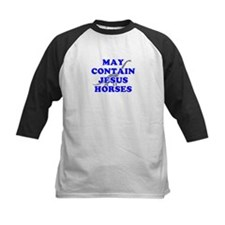 May Contain Jesus Horses Tee