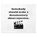 Documentary Injustice King Duvet