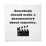 Documentary Injustice Queen Duvet