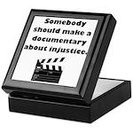Documentary Injustice Keepsake Box