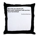 Evan Carmichael Throw Pillow