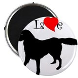 Flat Coated Retriever Magnet