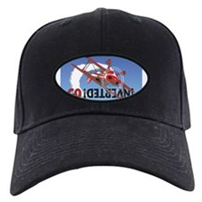 Colored Biplane Design Baseball Hat