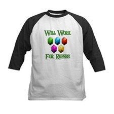 Will Work For Rupees Tee