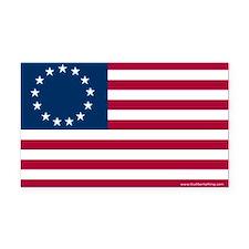Betsy Ross Flag Rectangle Car Magnet