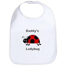 Daddys ladybug Bib