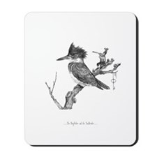 The Kingfisher and the Snailh Mousepad