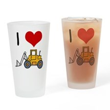 I Love Loaders Drinking Glass