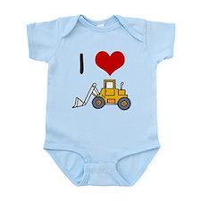 I Love Loaders Infant Bodysuit