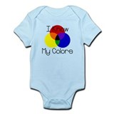 I Know My Colors Onesie