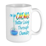 Im on Chemo Blue Mug
