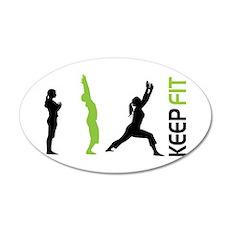 Keep Fit Wall Sticker