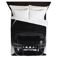 Football Helmet Queen Duvet