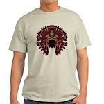 Native War Bonnet 09 Light T-Shirt