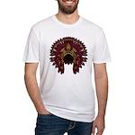 Native War Bonnet 09 Fitted T-Shirt