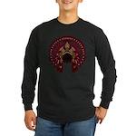 Native War Bonnet 09 Long Sleeve Dark T-Shirt