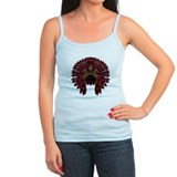 Native War Bonnet 09 Ladies Top