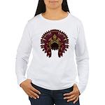 Native War Bonnet 09 Women's Long Sleeve T-Shirt