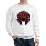 Native War Bonnet 09 Sweatshirt