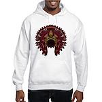 Native War Bonnet 09 Hooded Sweatshirt