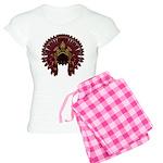 Native War Bonnet 09 Women's Light Pajamas