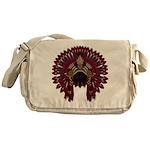 Native War Bonnet 09 Messenger Bag
