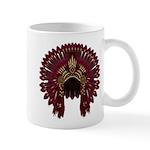 Native War Bonnet 09 Mug