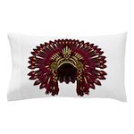 Native War Bonnet 09 Pillow Case