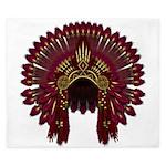 Native War Bonnet 09 King Duvet