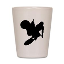 Motorcross Shot Glass