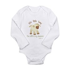 Cute Little lamb Long Sleeve Infant Bodysuit