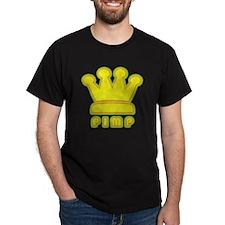 King Pimp Black T-Shirt