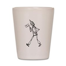 Tin Woodsman Shot Glass