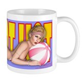 PINUP MUG - Hot Hot Hot (Sophisticated Lady)