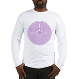 Purple Labyrinth Long Sleeve T-Shirt