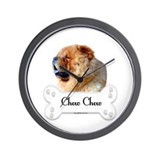 Chow 1 Wall Clock