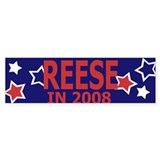 Reese in 2008 Bumper Car Sticker