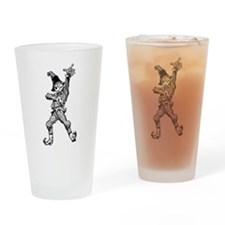 Scarecrow Dancing Disco Style Drinking Glass