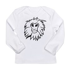 Monkey Long Sleeve Infant T-Shirt