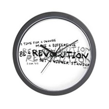 Be a Revolution Wall Clock