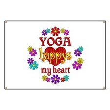 Yoga Happy Banner