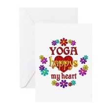 Yoga Happy Greeting Cards (Pk of 20)